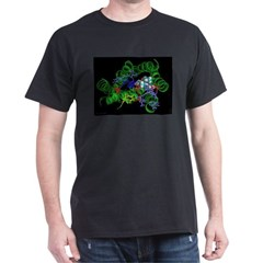 LSD and Receptor Black T-Shirt
