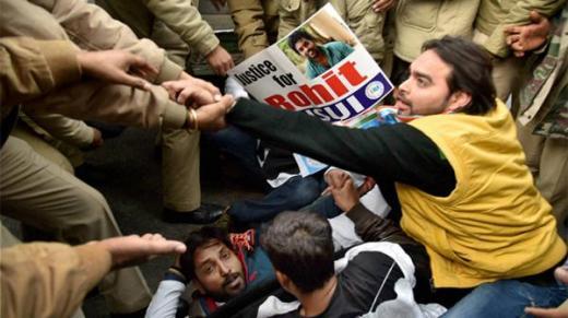 Rohith Vermula protest