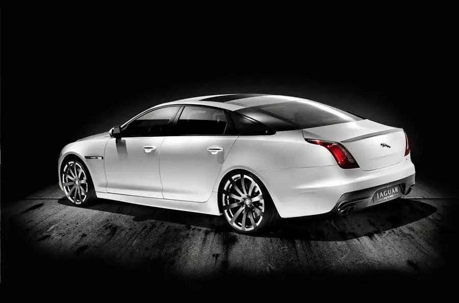 Jaguar XJ concept hints at XJR   Autocar