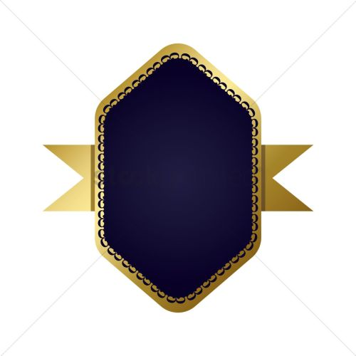 Medium Of Navy Blue And Gold