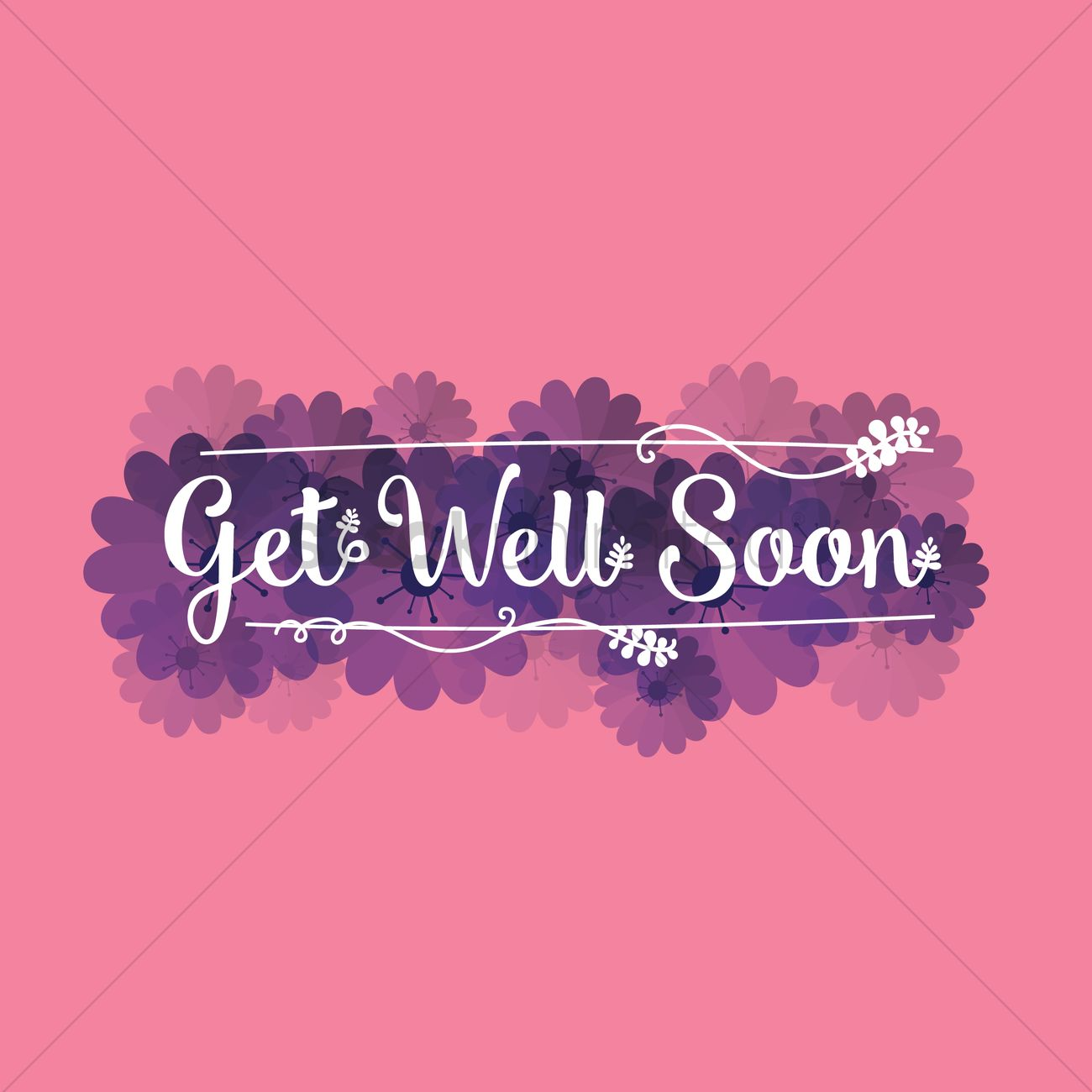 Compelling Get Well Soon Wallpaper Vector Graphic Get Well Soon Wallpaper Vector Image Stockunlimited Get Better Soon Gifts Get Better Soon Images cards Get Better Soon