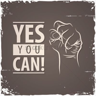 Yes you can! quote Vector Image - 1572085 | StockUnlimited