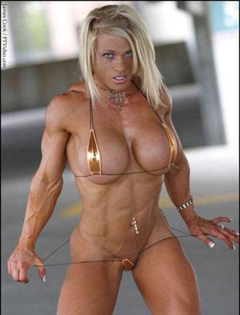 fit milf muscular