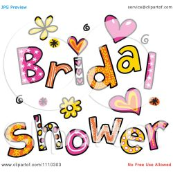 Small Crop Of Bridal Shower Clipart
