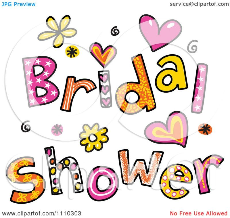 Large Of Bridal Shower Clipart