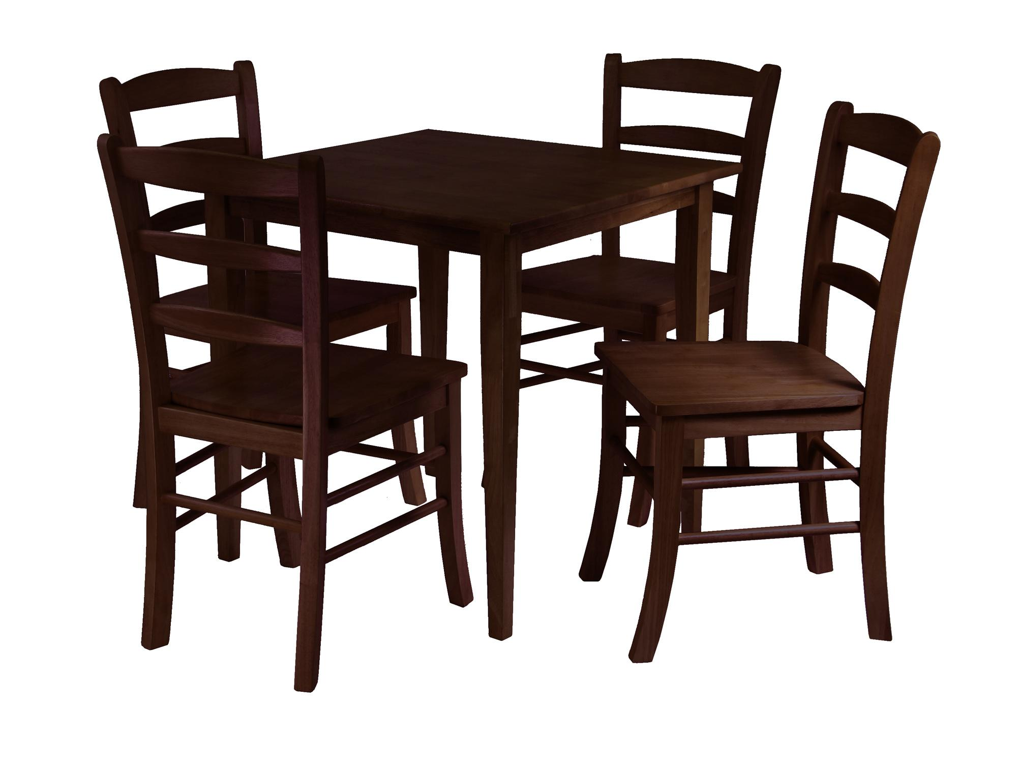 kitchen table clipart 94532 groveland 5pc square dining table with