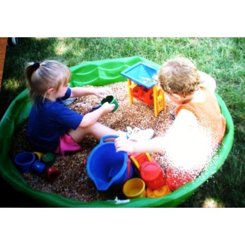 Medium Crop Of Two Kids In A Sandbox