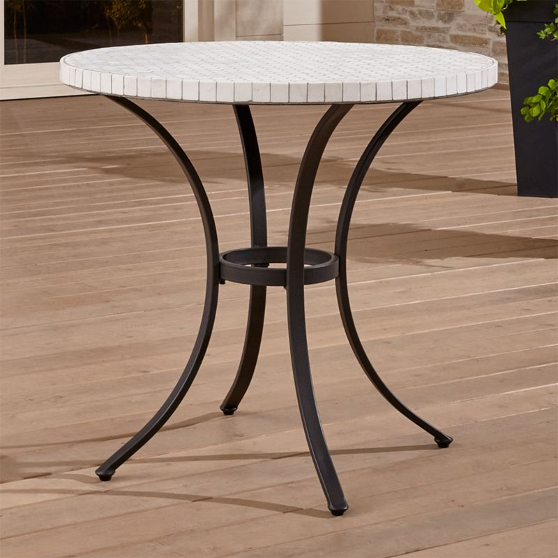 pin it hexa bistro table metal furniture