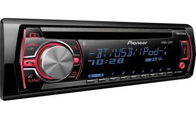 Pioneer DEH-X6500BT CD receiver at Crutchfield.com