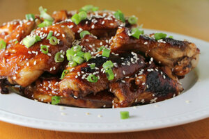 Super Bowl recipe: Baked Asian sticky wings - CSMonitor.com