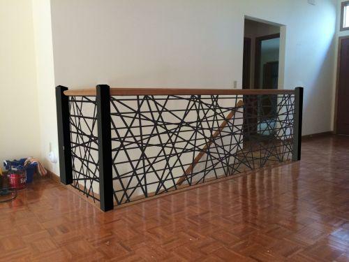 Medium Of Metal Stair Railing