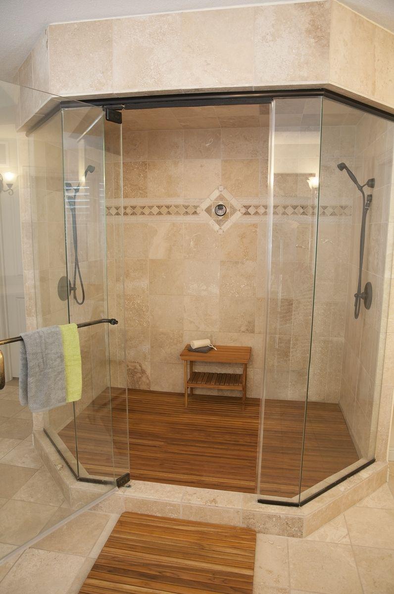 Fullsize Of Teak Shower Mat