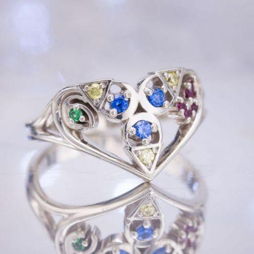 Medium Of Nerdy Engagement Rings