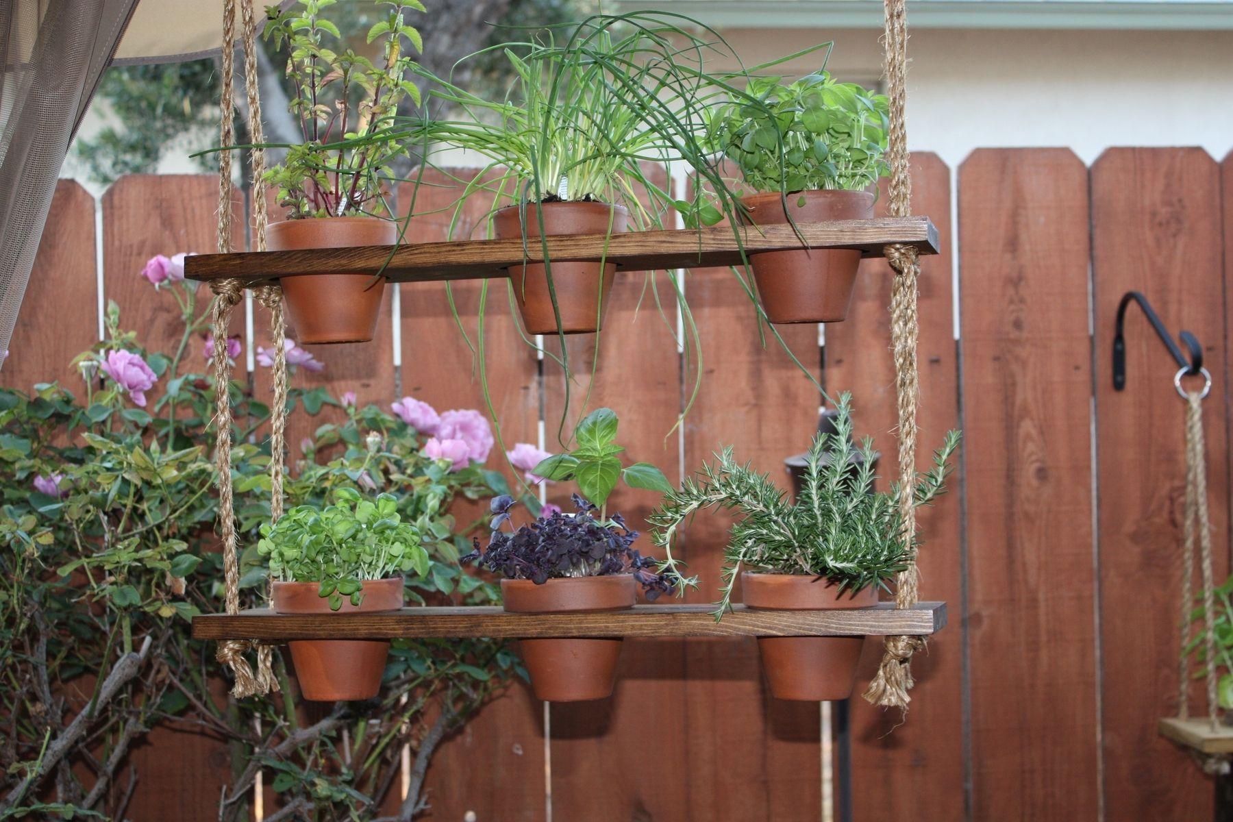 Fullsize Of Hanging Herb Garden