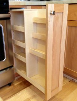 Small Of Pull Out Spice Rack
