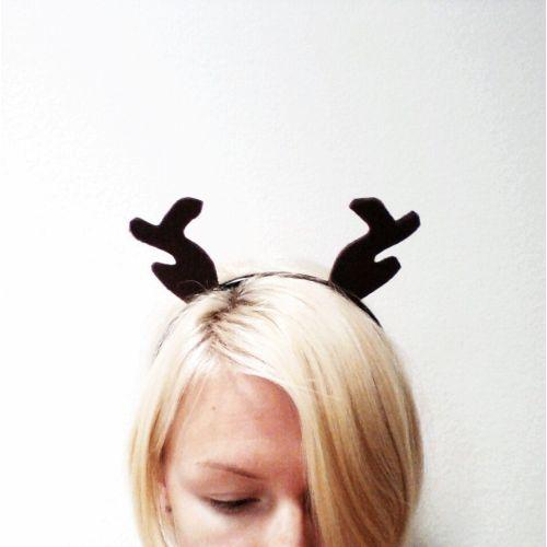Medium Crop Of Reindeer Antlers Headband