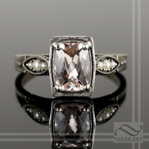 Medium Of Art Deco Engagement Rings