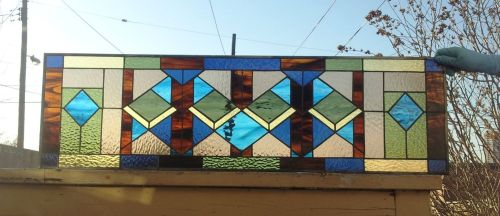 Medium Of Stained Glass Window Panels