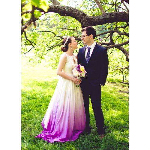 Medium Crop Of Ombre Wedding Dress