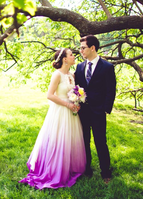 Medium Of Ombre Wedding Dress