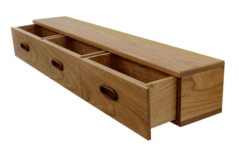 Large Of Floating Shelf With Drawer