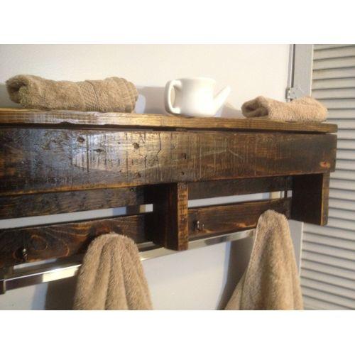 Medium Crop Of Wooden Shelf Bathroom