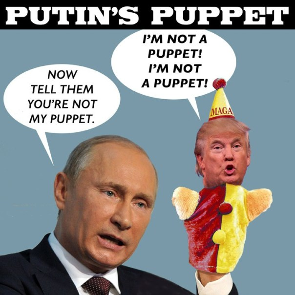 Image result for putin puppet