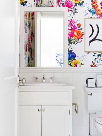 31+ Bathroom Wallpaper Designs | Bathroom Designs | Design Trends