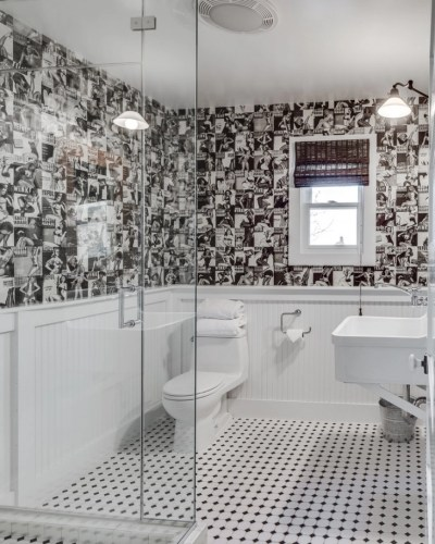 20+ Black And White Bathroom Designs, Decorating Ideas | Design Trends - Premium PSD, Vector ...