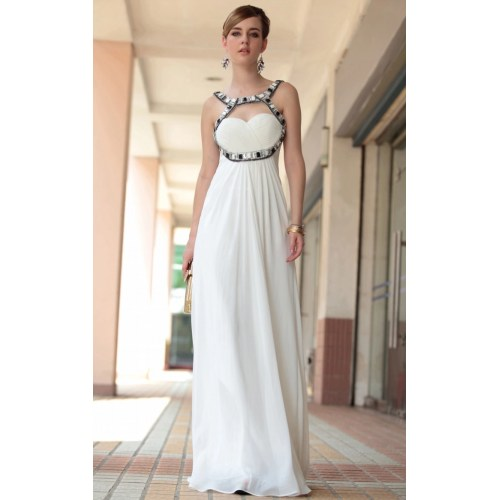 Medium Crop Of White Formal Dresses