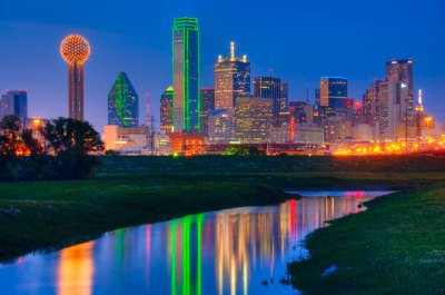 Dallas Skyline by eransh10 - DPChallenge