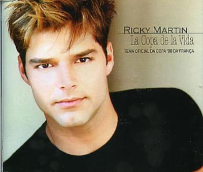 Ricky Martin La Copa De La Vida Brazilian Promo CD single (CD5 / 5