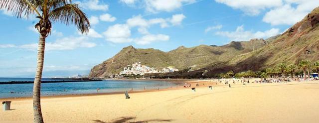 Playa de las Teresitas en Santa Cruz de Tenerife