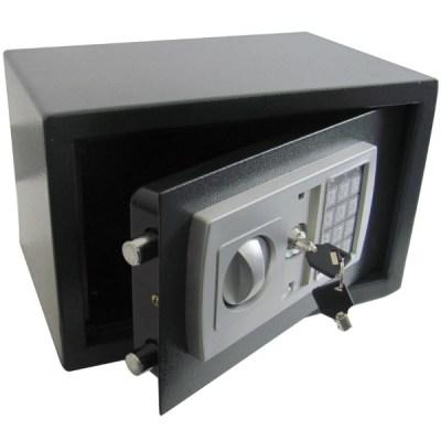 ELECTRONIC DIGITAL KEYPAD SAFE HIGH SECURITY STEEL HOME/HOTEL CASH/MONEY BOX | eBay