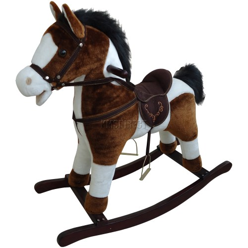 Medium Of Wooden Rocking Horse