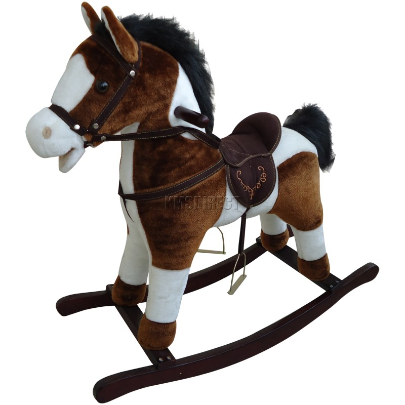 Large Of Wooden Rocking Horse