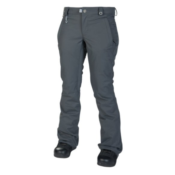 686 Womens Mannual Standard Snowboard Pants Gunmetal Sample Medium 2014