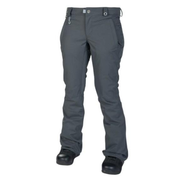 686 Womens Mannual Standard Snowboard Pants Gunmetal Sample Medium 2014