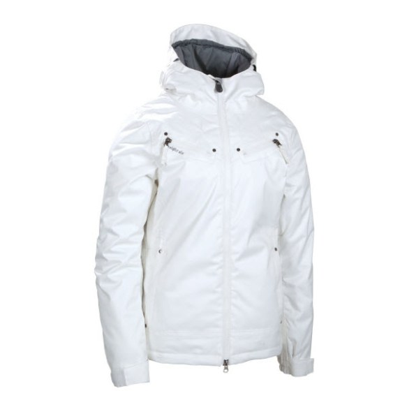 686 Womens Mannual Tender Snowboard Jacket in White 2012