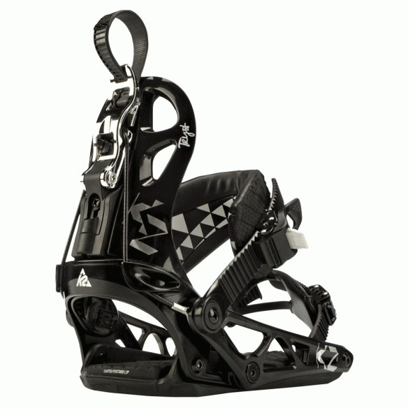 K2 Cinch Tryst Womens Snowboard Bindings 2012 in Black
