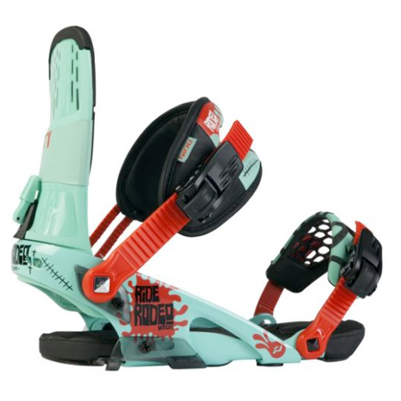 Ride Rodeo Snowboard Bindings 2012 in Seafoam