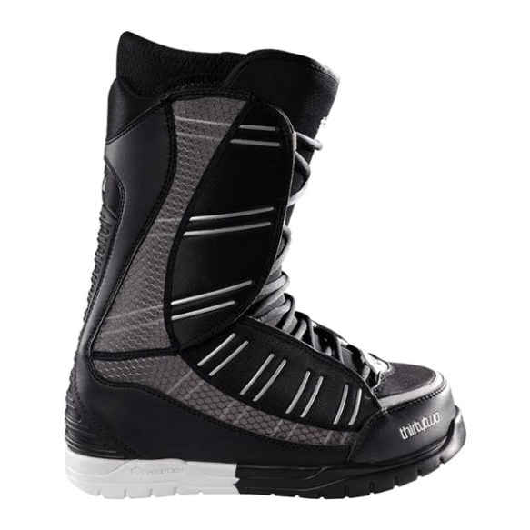 Thirtytwo Ultralight Snowboard Boots 2011 in Black Silver