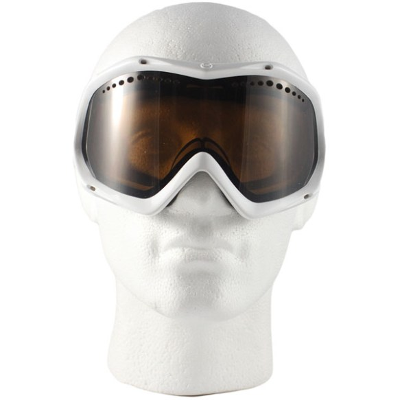 Vonzipper Bushwick snowboard ski goggles 2010 in White Gloss with Bronze Lens
