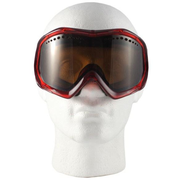Von Zipper Bushwick snowboard Ski Goggles 2012 in Cherry Bronze