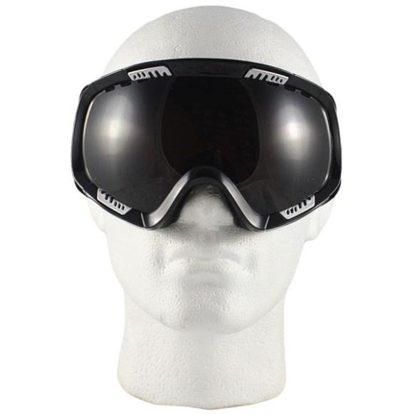 Von Zipper Feenom snowboard ski goggles 2009 in Black Gloss Bronze Polarize Lens