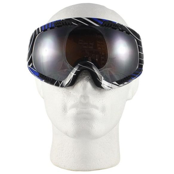Von Zipper Feenom snowboard ski goggles 2010 Synchro Royal Bronze Chrome Lens