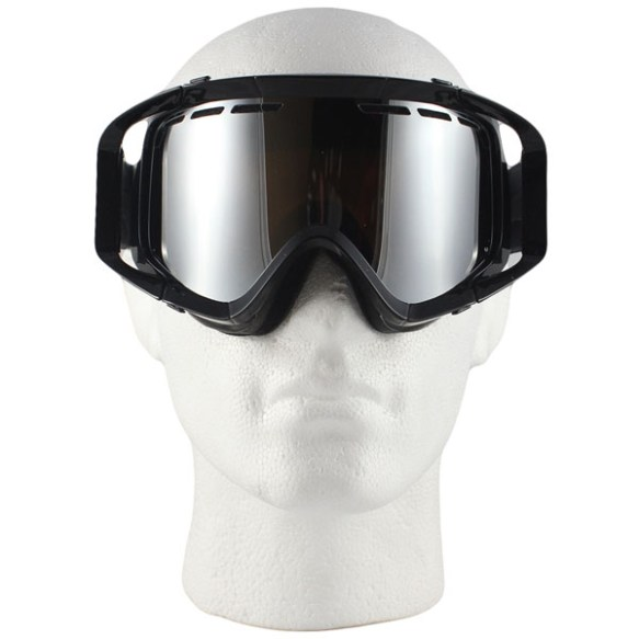 Von Zipper Porkchop snowboard ski goggles 2011 in Black with Bronze Chrome lens