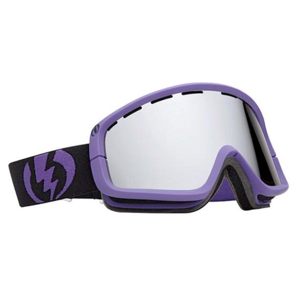 Electric EGB2 snowboard ski goggles 2012 in Violet Bronze Silver Chrome