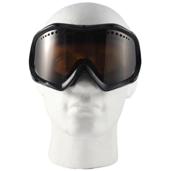 Vonzipper Bushwick snowboard ski goggles 2012 Black Gloss with Bronze lens