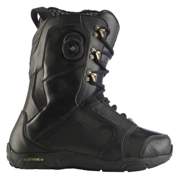 K2 T1 Mens Snowboard Boots 2012 in Black